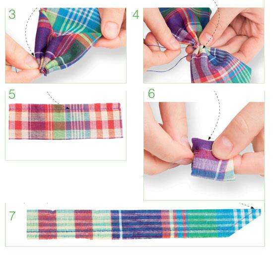 Как сделать ремешок для бабочки галстука