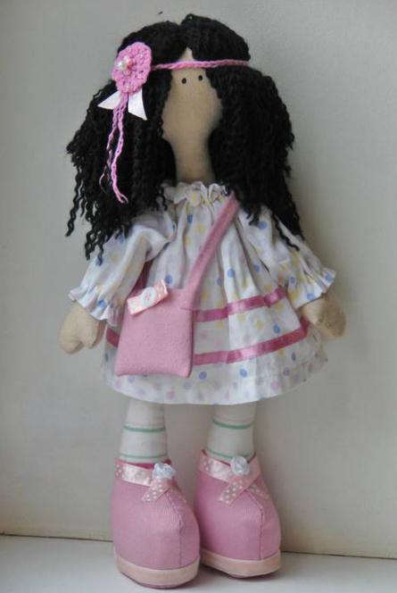 Самодельная кукла своими руками из ткани