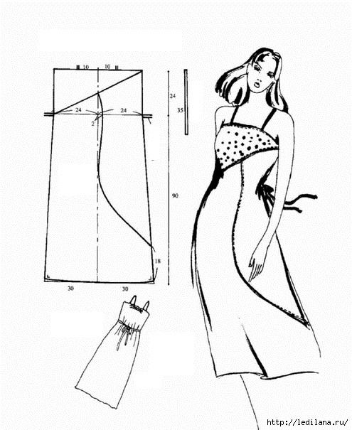 Выкройки летние платья и сарафаны своими руками выкройки