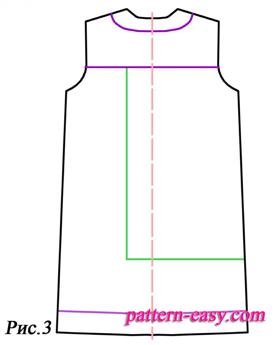 Как быстро сшить прямое платье 66