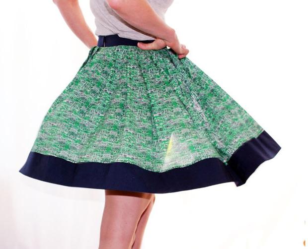 Как сшить юбку татьянка своими руками