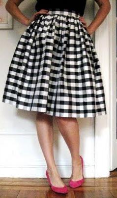 Длинная юбка своими руками мастер класс
