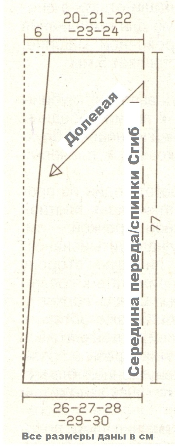 Летний сарафан в пол, выкройка