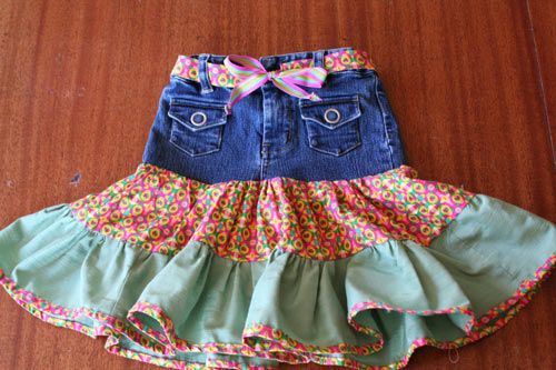 Как сшить юбку из джинсов своими руками выкройки