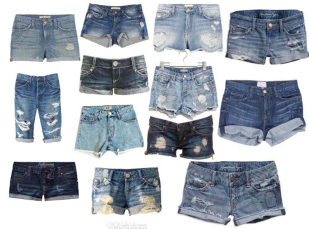 Как сделать короткие шорты из джинсов своими руками