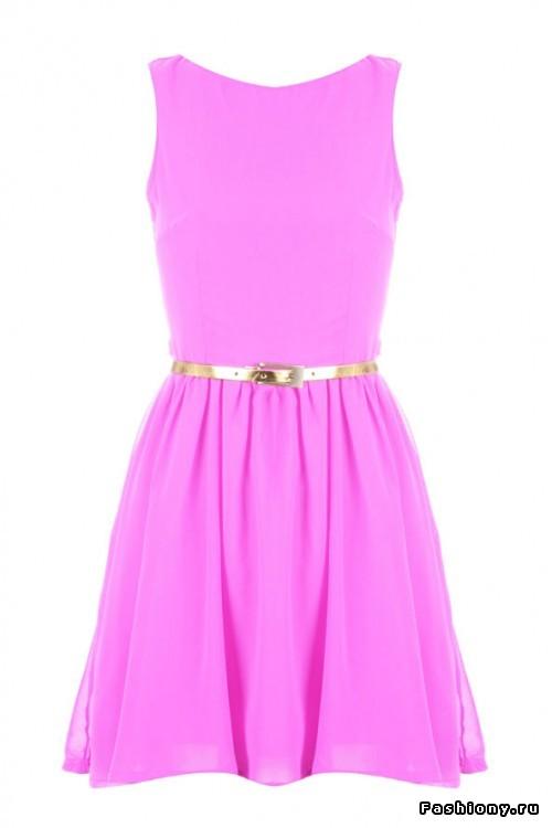 Красивое простое платье своими руками