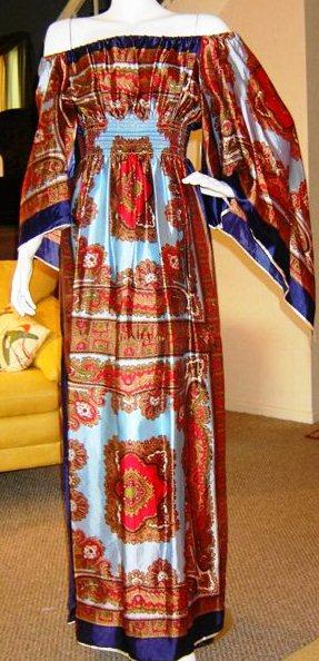 Платья из платка своими руками
