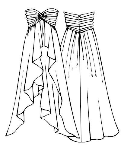 Выкройка вечернее платье - Выкройки фото
