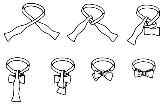Мужские галстуки бабочки своими руками