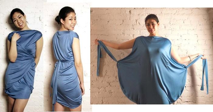 Это оригинальное универсальное платье сшить очень просто. . Времени на пошив потребуется не много, а смотрится оно
