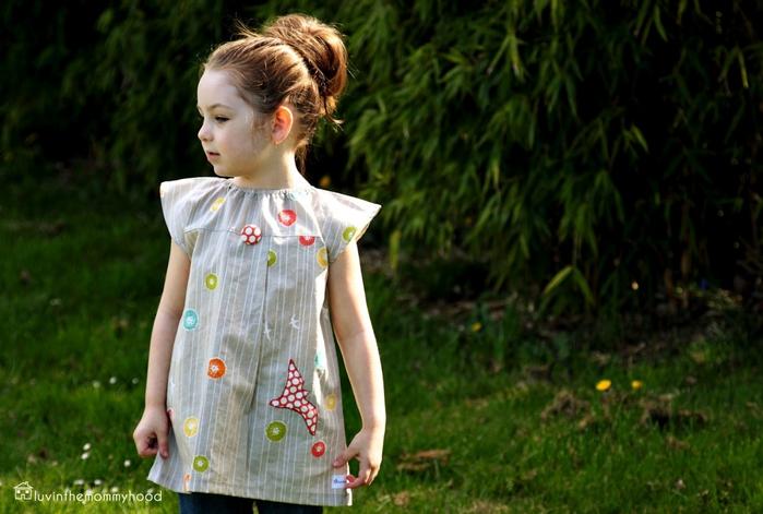 Сшить детское платье своими руками фото