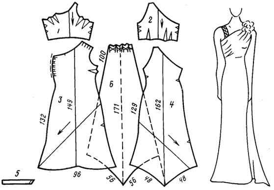 Вечерние платье своими руками выкройки