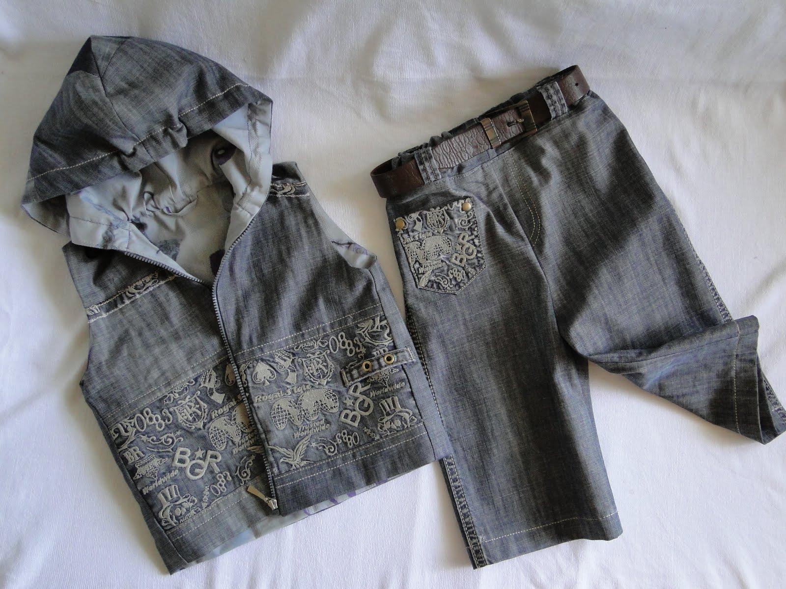 Как сшить безрукавку из старых джинсов своими руками