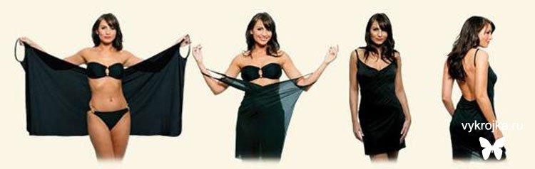 Сшить летнее платье быстро