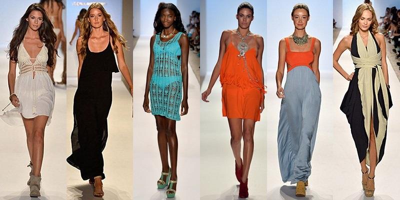 Модные сарафаны лето-2014