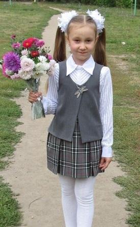 Жилетка школьная для девочки сшить своими руками