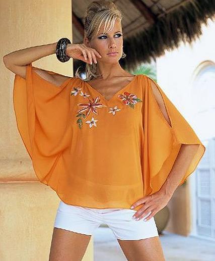 Как сшить блузку-тунику - Домашний HAND-MADE