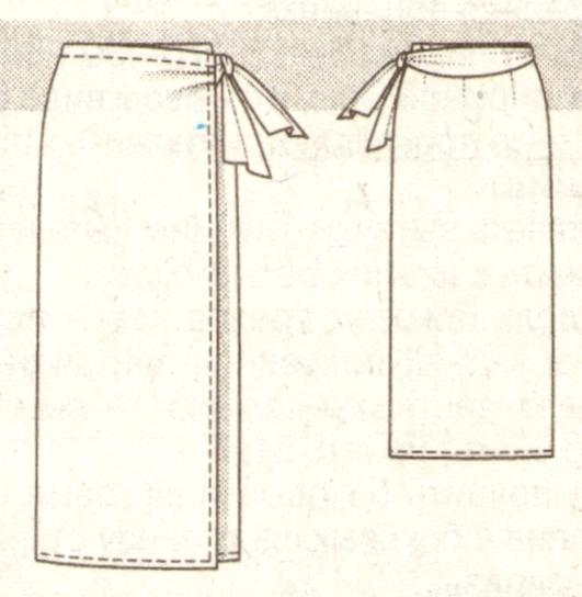 Как сшить юбку прямую своими руками без выкройки быстро