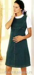 Сарафаны для беременных, выкройка . . Учимся шить и вязать