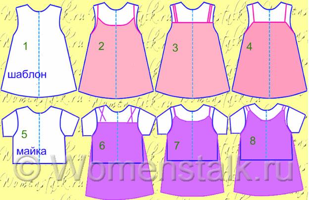 Выкройки детских платьев один из основных разделов сайта. . Детские выкройки. костюм рыбки своими из мусора