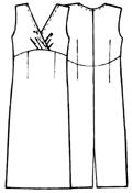 выкройка вязанного платья спицами с открытой спиной, выкройка вязанной костюма кармен, выкройка летнего платья реглан