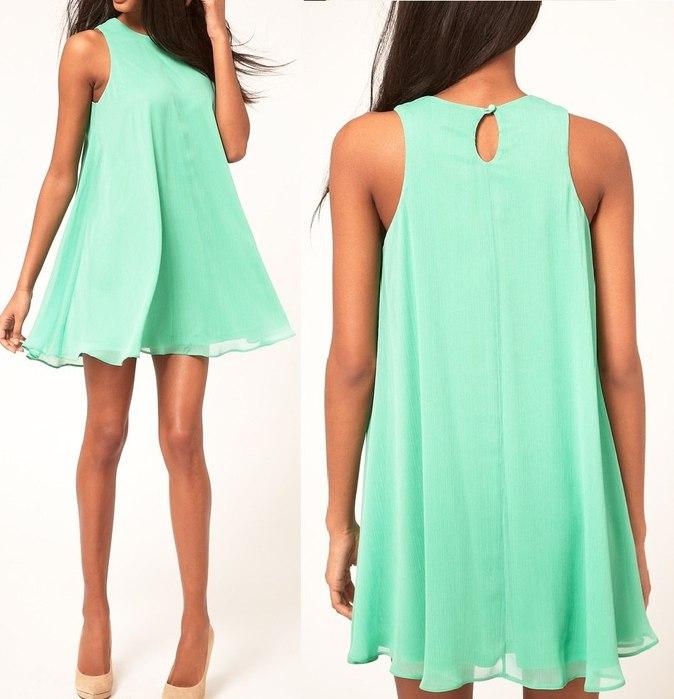 Простые летние платья своими руками фото