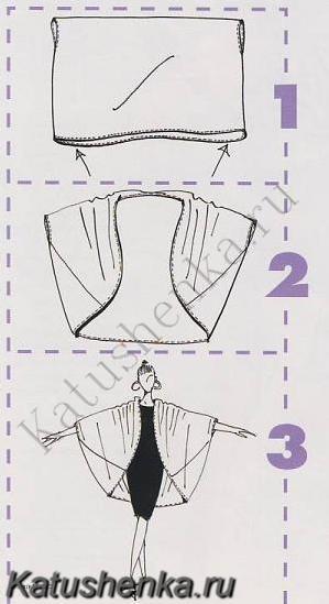 Как сшить простой кардиган