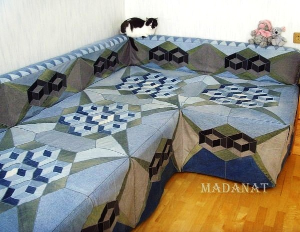 Одеяло из фото своими руками