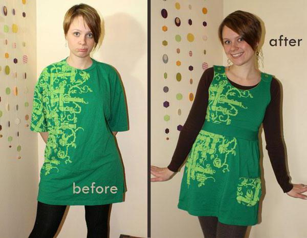 Как обновить старое платье своими руками