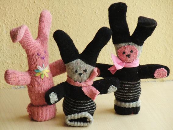 Самодельные игрушки для детей своими руками на новый год