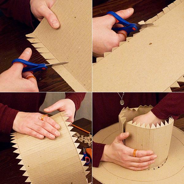 Сделать шляпу своими руками из бумаги пошаговое фото