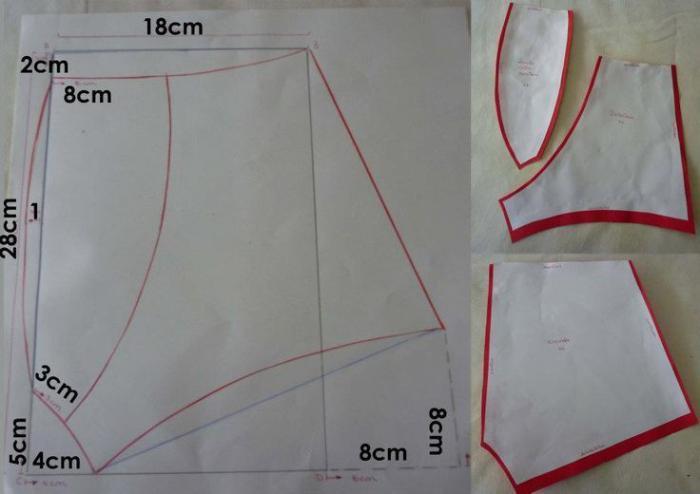 Как шить трусы женские стринги с юбочкой фото 15-244