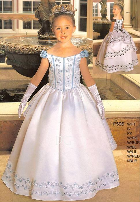 Как сшить платье своими руками для девочки бальное