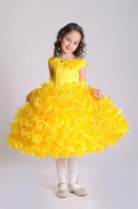 Бальное платье для девочки своими руками фото
