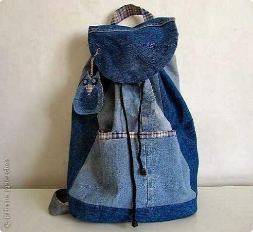 Рюкзак своими руками из джинсов мастер класс