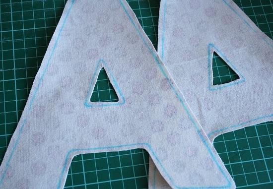 Буквы выкройки своими руками фото