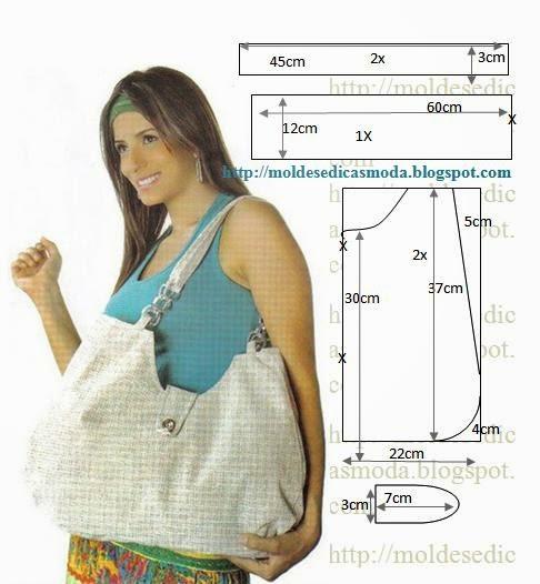 Летняя сумка из ткани своими руками выкройка