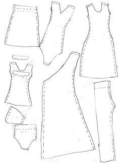 Наряды для кукол барби своими руками выкройки